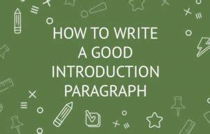 How to do a good essay intro